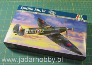 Italeri 1307 Supermarine Spitfire Mk.VI (1/72) - 2824109039