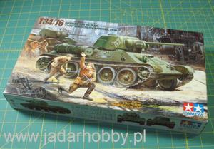 "Tamiya 35149 Russian T-34/76, ""ChTZ"" version, 1943 (1/35) - 2824109132"