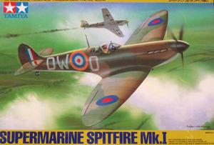 Tamiya 61032 Supermarine Spitfire Mk.I (1/48) - 2824109164
