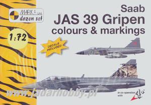 Mark I - Saab JAS 39 Gripen Colours & Markings (1:72) - 2824109223