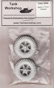 Tank Workshop TWS2040 8 Ton German Half Track Front Wheels (1/35) - 2824109534
