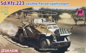Dragon 7420 - Sd.Kfz.223 Leichte Panzerspahwagen (1/72) - 2824109538