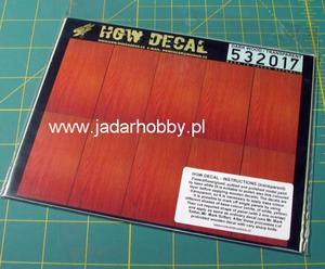 HGW DECAL 532017 Dark Wood / Transparent (1/32) - 2824109782
