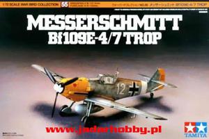 Tamiya 60755 - Messerschmitt Bf-109E-4/E-7 Trop. (1/72) - 2824109801