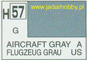 Mr.Hobby 057 (Gunze Sangyo) Aqueus Hobby Color Color - H57 AIRCRAFT GRAY - 2824109888