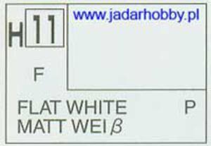Mr.Hobby 011 (Gunze Sangyo) Aqueus Hobby Color Color - H11 FLAT WHITE - 2824109932