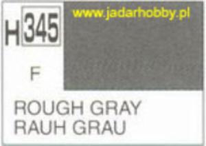 Mr.Hobby 345 (Gunze Sangyo) Aqueus Hobby Color Color - H345 ROUGH GREY - 2824109944