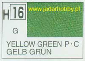 Mr.Hobby 016 (Gunze Sangyo) Aqueus Hobby Color Color - H16 YELLOW GREEN - 2824109949