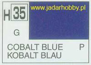 Mr.Hobby 035 (Gunze Sangyo) Aqueus Hobby Color Color - H35 COBALT BLUE - 2824109967