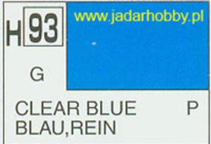Mr.Hobby 093 (Gunze Sangyo) Aqueus Hobby Color Color - H93 CLEAR BLUE - 2824109981