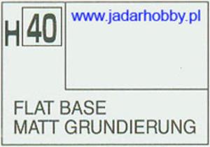 Mr.Hobby 040 (Gunze Sangyo) Aqueus Hobby Color Color - H40 FLAT BASE - 2824109982