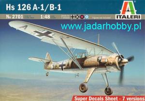 Italeri 2701 Hs 126 A-1/B-1 (1/48) - 2824110113