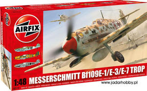 Airfix A05122 Messerschmitt Bf109E-1/E-3/E-7 Trop.( 1/48) - 2824110282