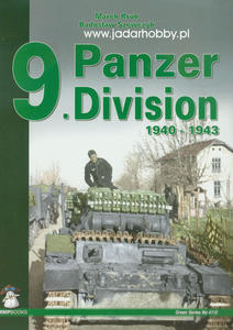 Mushroom 4110 - 9 Panzer Division 1940-1943 ( książka) - 2824109371
