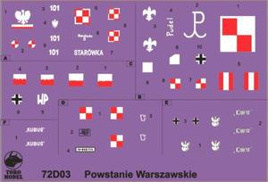 ToRo 72D03 Pojazdy opancerzone Powstania Warszawskiego 1944 (1/72) - 2824110417