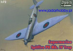 Sword SW72044 Supermarine Spitfire PR Mk.IV Trop (1/72) - 2824110546