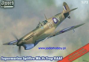 Sword SW72045 Supermarine Spitfire Mk.Vc Trop RAAF (1/72) - 2824110643