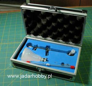 MAR AEROGRAF AD-7730 z dyszami 0.3mm i 0.5mm - 2824110833