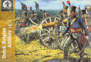 Waterloo 1815 AP009 Dutch Belgian Artillery 1815 (1/72) - 2824098328