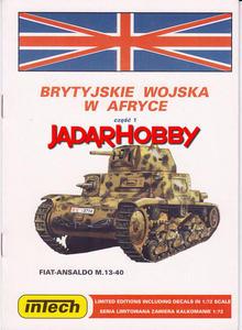 Intech Brytyjskie wojska w Afryce (1:35) - 2824111188