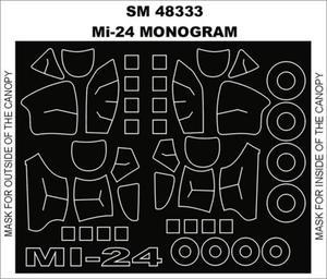 Montex SM48333 Mi-24 (Monogram) (1/48) - 2824111197