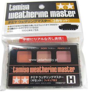 Tamiya 87127 - Weathering Master H set (for figures II) - 2824111694