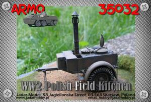 Armo 35032 - Polska kuchnia polowa z II wojny  - 2824111436
