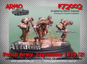 Armo F72002 - Do ataku! Wojsko Polskie, Wrzesień 1939 #2 (1/72) - 2824111762