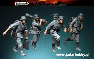 Stalingrad S-3001 German 8cm Mortar Crew, 1939-1944 (1/35) - 2824111116