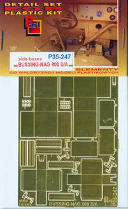 Part P35247 Bussing-NAG 500 S/A Side Boxes (1/35) - 2824112017