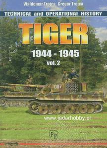 Trojca - TIGER - Technical and Operational History vol.2 (książka) - 2824112021