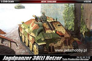 """Academy 13230 Jagdpanzer 38(t) Hetzer """"Late Version"""" (1/35)"""