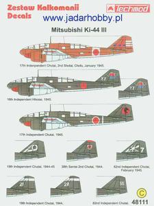 Techmod 48111 - Mitsubishi Ki-44 III (1/48) - 2824111024