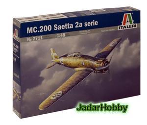 Italeri 2711 MC.200 Saetta 2a serie (1/48) - 2824112311