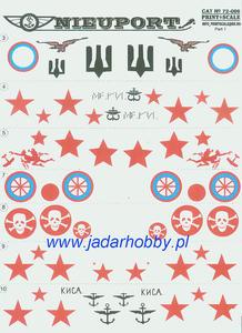 Print Scale 72-006A Nieuport 17-25 bis (1/72) - 2824112345