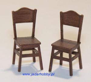 Plus Model EL049 Kuchenne krzesła (1:35) - 2824112402