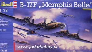 """Revell 04279 B-17F """"Memphis Belle"""" (1/72) - 2824112411"""