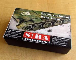Sira Hobby ASA02 - West Front (aqua pigment set, 4 x 30ml) - 2824112093