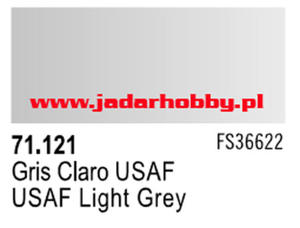 71121 Vallejo Model Air USAF Light Grey (farba akryl 17ml) - 2824112537