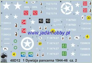 ToRo 48D12 1 Dywizja Pancerna 1944-46 cz.2 (1/48) - 2824112555