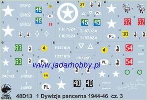 ToRo 48D13 1 Dywizja Pancerna 1944-46 cz.3 (1/48) - 2824112556