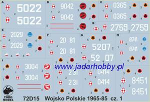 ToRo 72D15 Wojsko Polskie 1965-85 vol.1 (1/72) - 2824112557