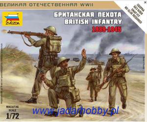 Zvezda 6166 British Infantry 1939-1945 (1/72) - 2824113023