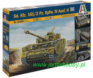 Italeri 6486 Sd.Kfz.161/2 Pz.Kpfw.IV Ausf.H (1/35) - 2824113101