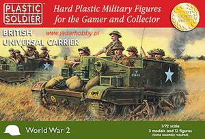 Plastic Soldier WW2V20007 - British Universal Carrier (1/72) - 2824113300