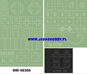 Montex MM48366 Junkers Ju-87D-5 (Italeri) (1/48) - 2824113321