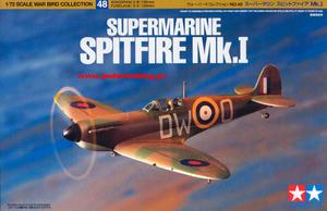 Tamiya 60748 - Supermarine Spitfire Mk.I (1/72) - 2824113426