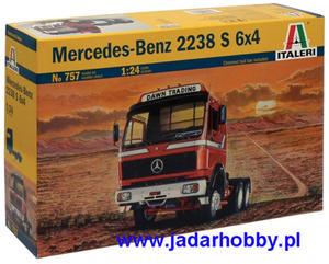 Italeri 0757 Mercedes-Benz 2238 S 6x4 (1/24) - 2824113494