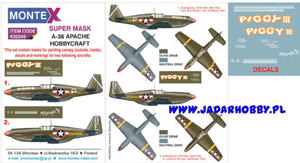 Montex K32249 A-36 Apache (Hobbycraft) (1/32) SUPER MASK - 2824113572