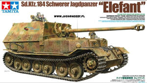 Tamiya 35325 Sd.Kfz.184 Elefant (1/35) - 2824099413